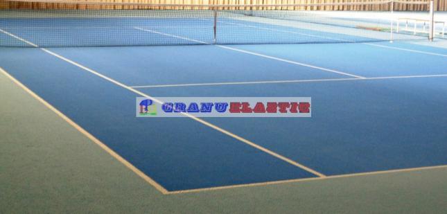 epdm tennis, gummigranulat für tennisplaetze, granulat tennishalle
