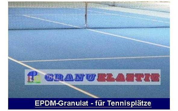 gummigranulat tennis, granulat tennishalle